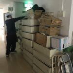 本日は北九州市八幡西区のある病院の一棟分の不用品回収作業のご依頼が頂きました。