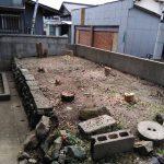 今日は北九州市八幡西区岩崎から家の丸ごと片付け作業と伐採の作業致しました。