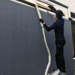 本日は北九州市小倉北区中津口の店舗から業務エアコンの不用品回収作業です。