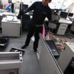 先日、北九州の某大企業の事務所の引っ越し、回収に行って来ました。