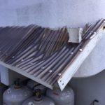 本日は北九州市八幡西区陣山で屋根の補修作業しました。