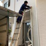 本日は北九州市戸畑区中原で引っ越し作業+エアコン移設工事しました